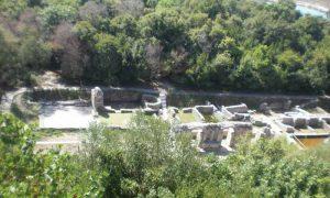 Bilder von der antike Städte Butrint